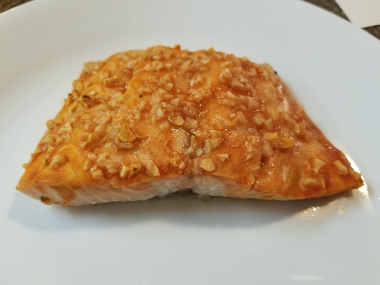 Red Hot Garlic Salmon