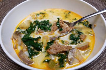 Sausage, Kale and Potato Soup