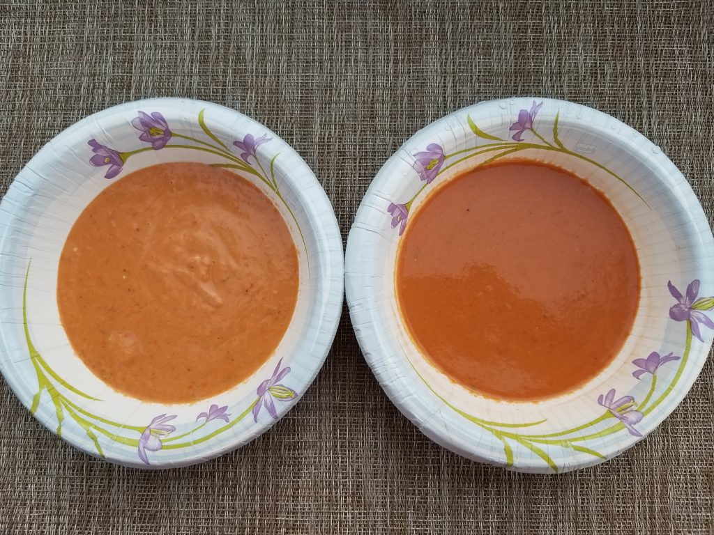 Smooth gazpacho