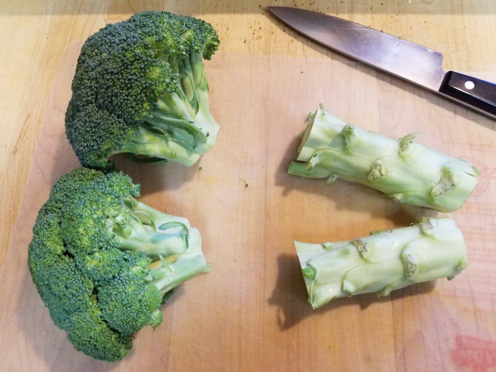 Trimmed Broccoli