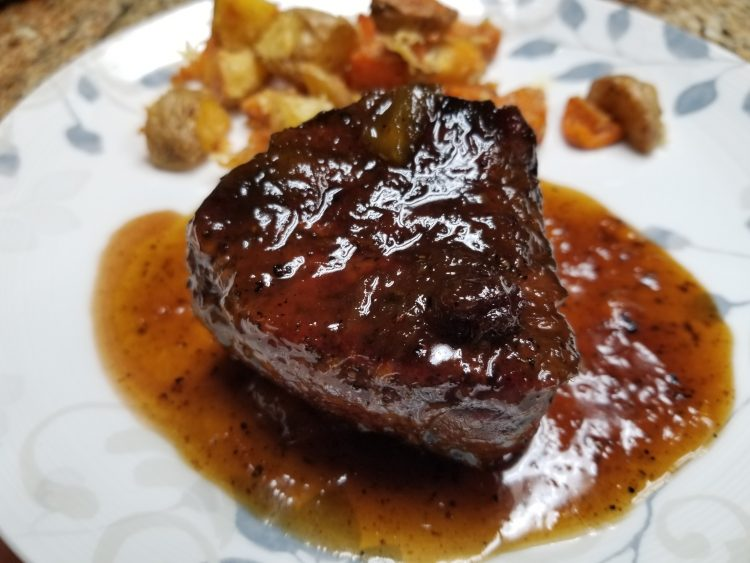 Chutney Pepper Steak