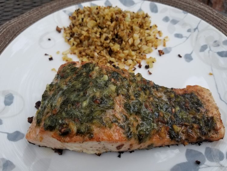 Herb Butter Salmon