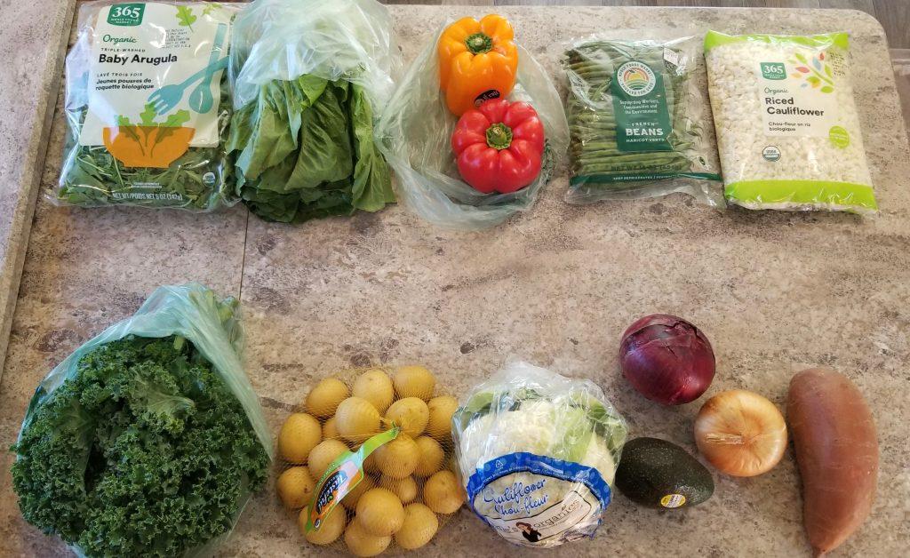 Perishable vegetables