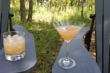 Grapefruit Martinis